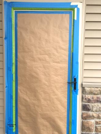 taped-door